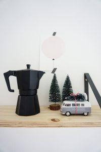 kerst diy volkswagenbusje kerstboom