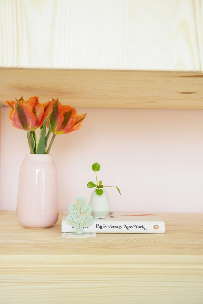 roze lambrisering