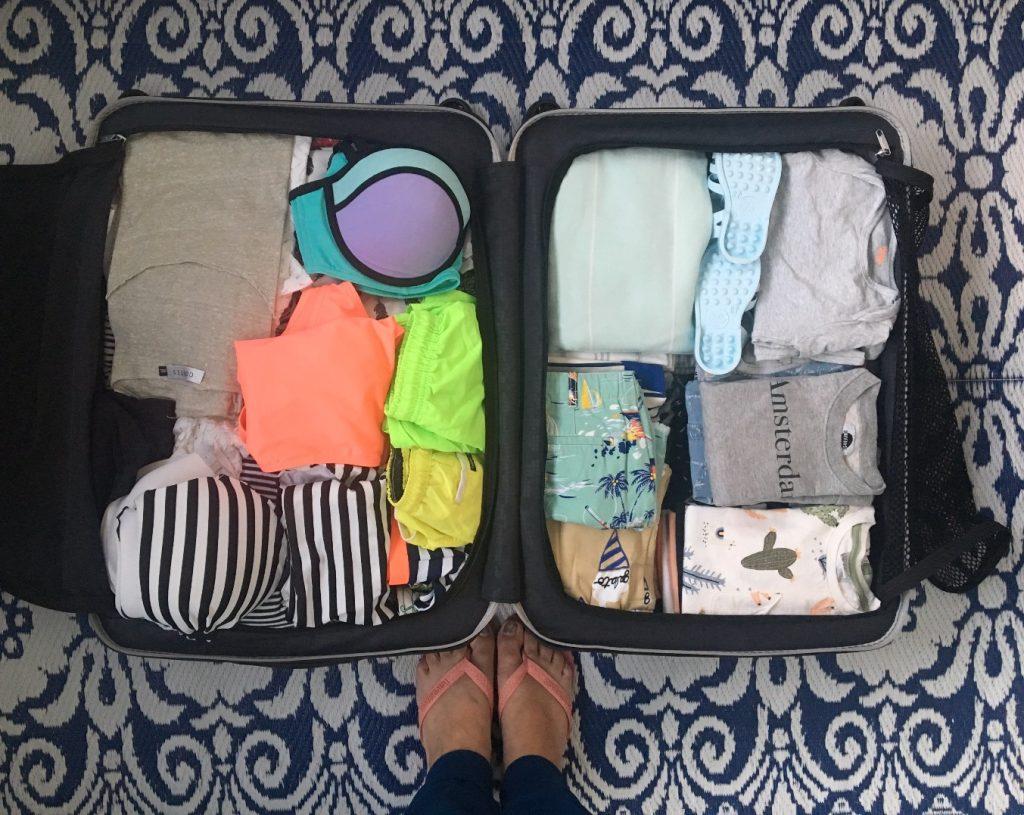 tips inpakken koffer
