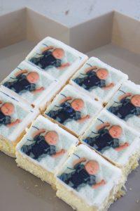 eerste verjaardag taart hema tompouce