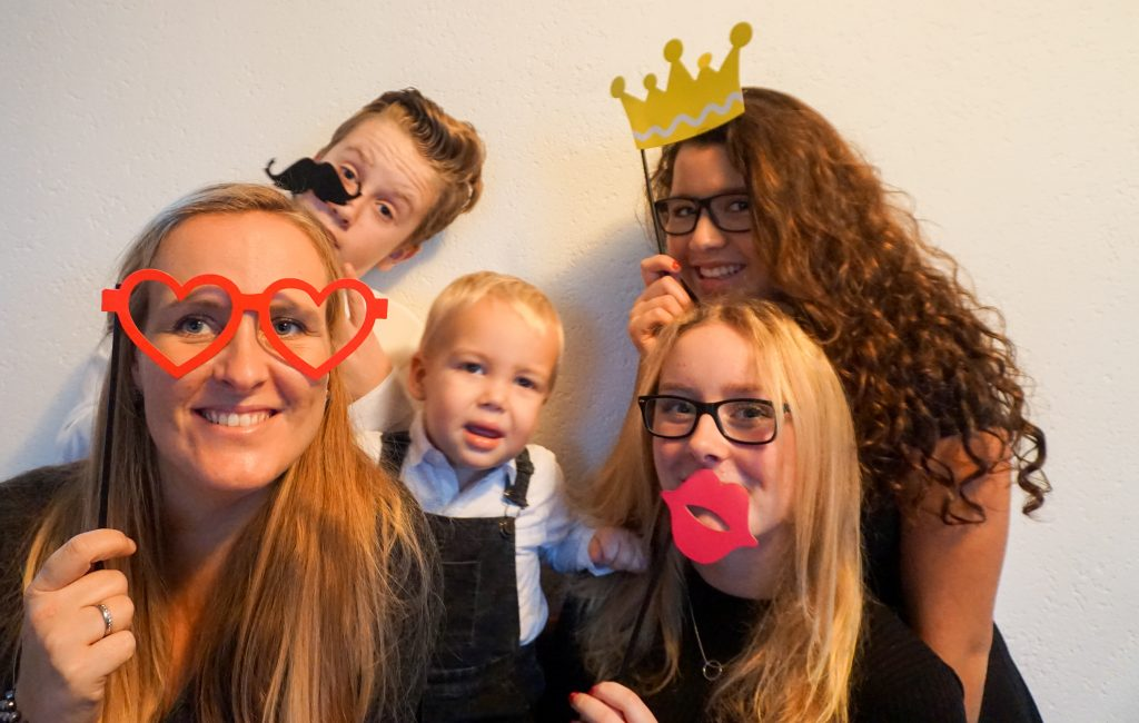kerst familie photobooth