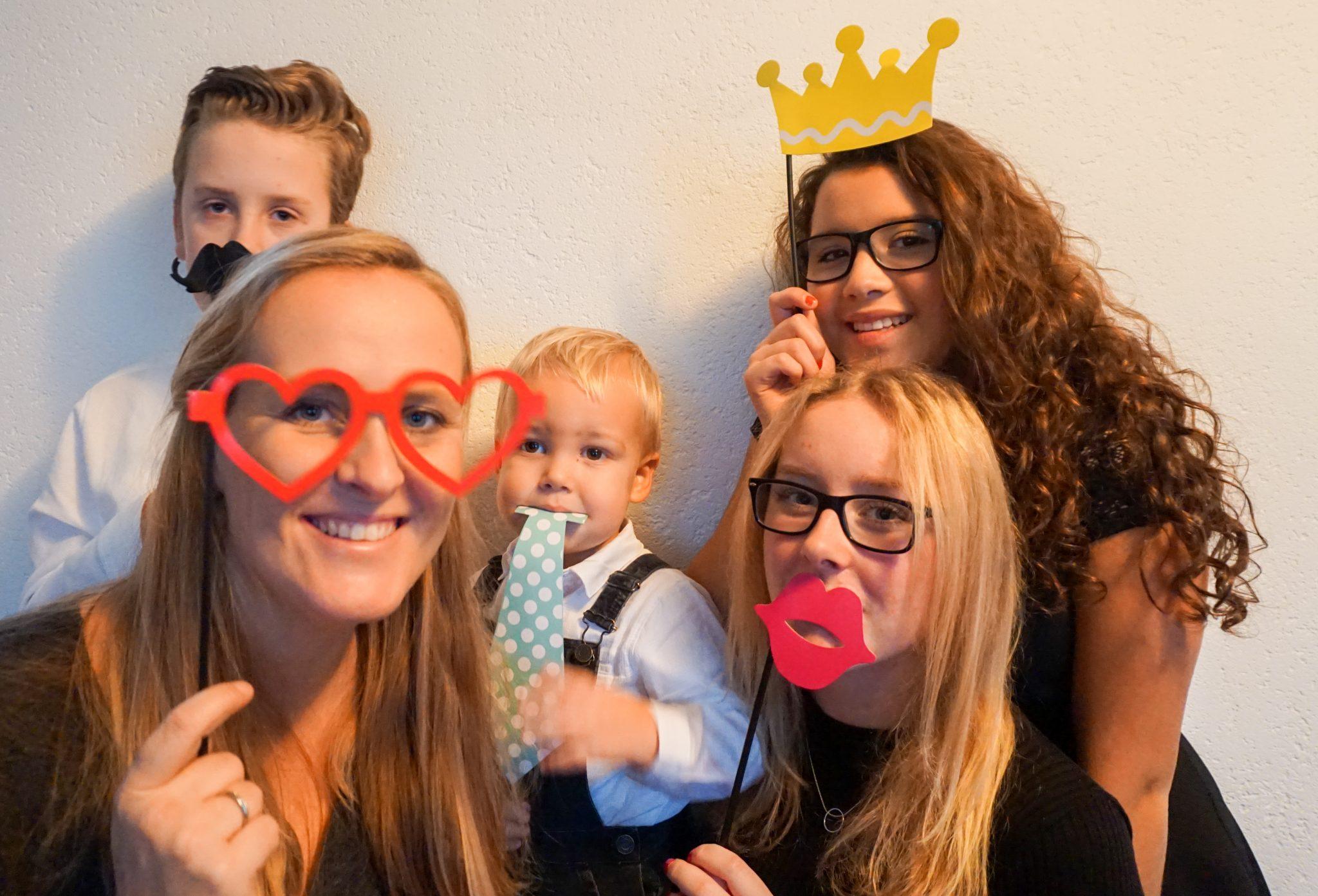 kerst familie photobooth