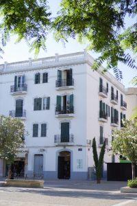 Ibiza oude stad