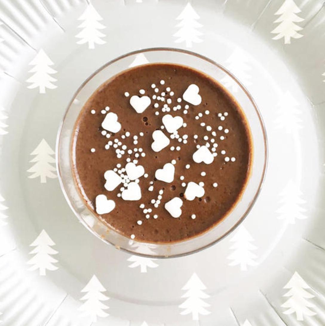makkelijke kerst chocolademousse