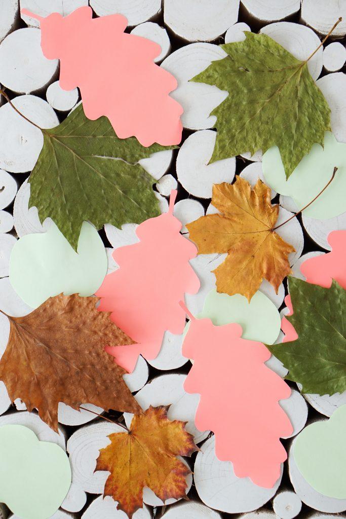 herfst blaadjes diy herfstslinger