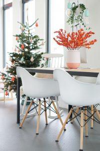 kerstboom papieren kristallen