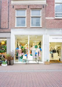 shopping route Haarlem