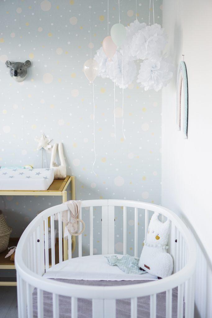 babykamer DIY regenboog
