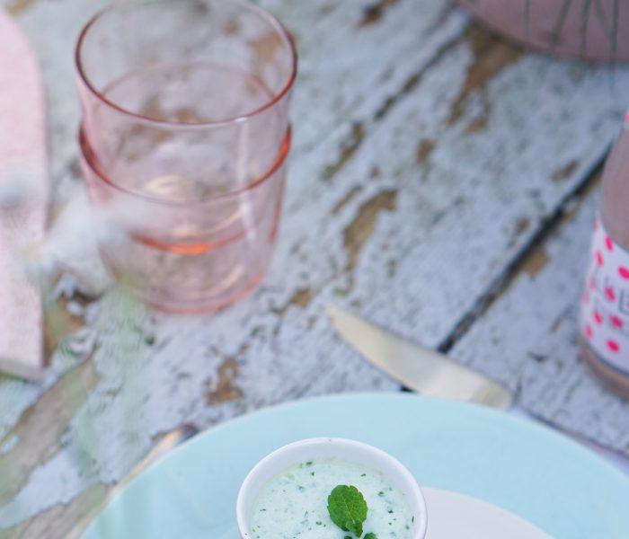 Gazpacho van komkommer: heerlijk zomers!