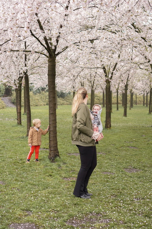 eropuit met kinderen amsterdamse bos
