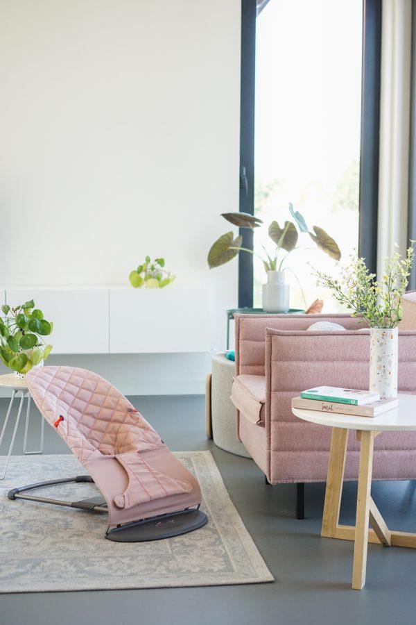 interieurvriendelijk interieurproof wipstoel wipstoeltje kinderstoeltje roze