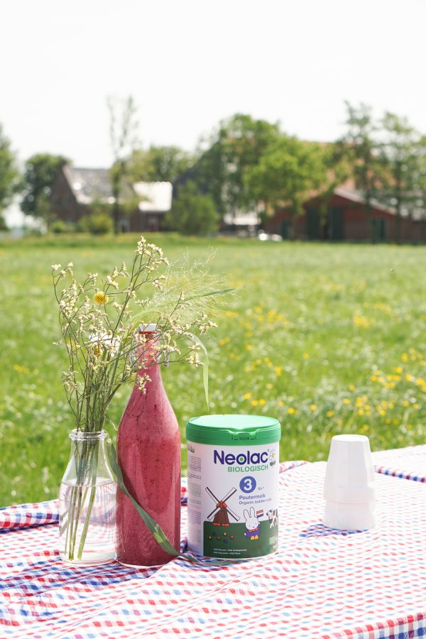 lunch boerderijdag neolac smoothie