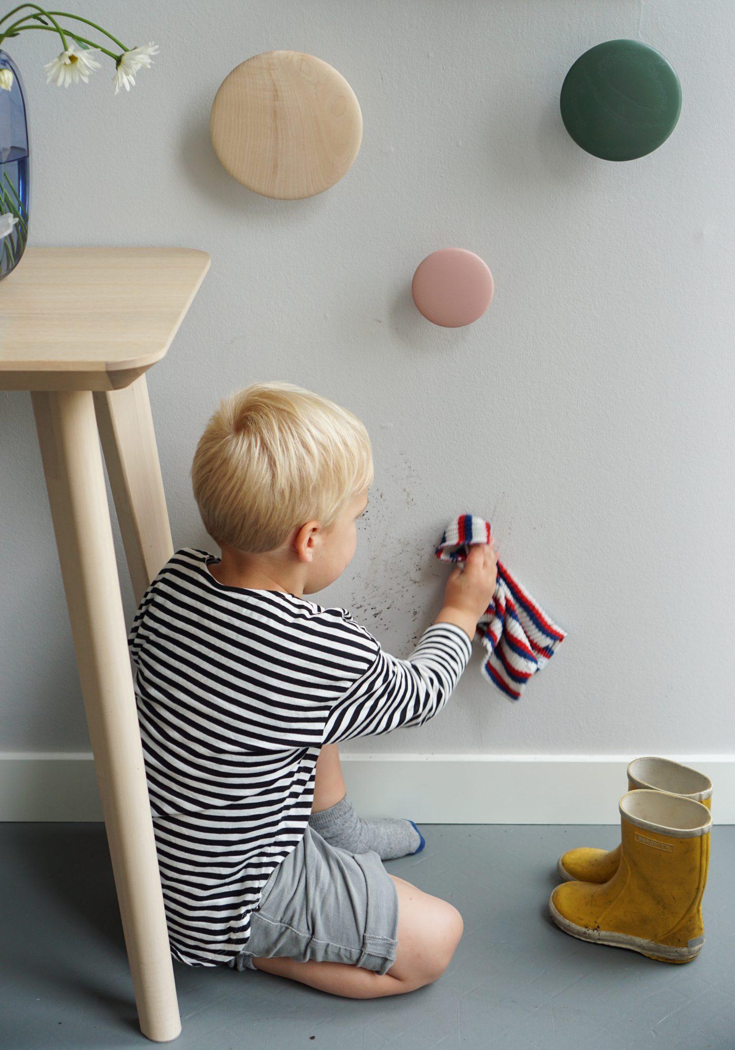 schoonmaken muurverf