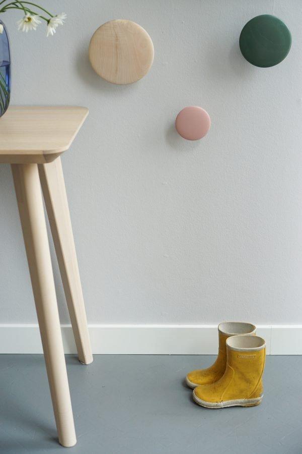 schoongemaakte muur afwasbaar muurverf damp histor clean grijs