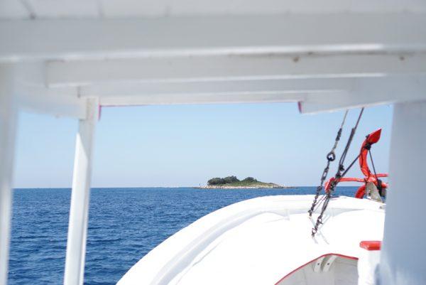 boottocht Burunji eilanden fazana kids kroatië istrië