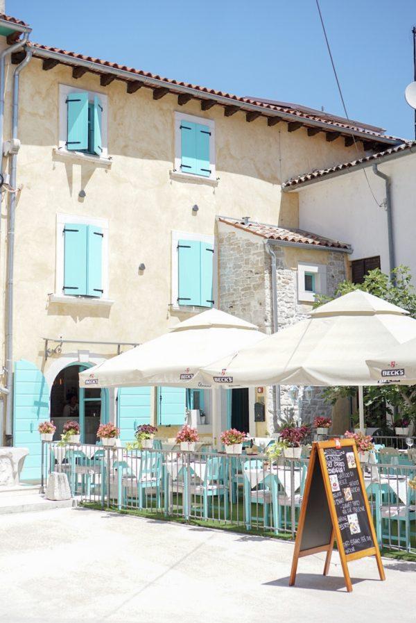 restaurant da nonna fazana kroatië croatia istria istrië