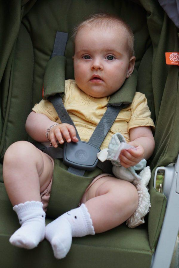 kindermode kinderkleding zomer tshirt zonnetjes H&M babysokken zeeman