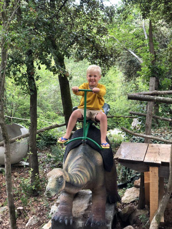 kids kinderen dinopark kroatië istrië funtana