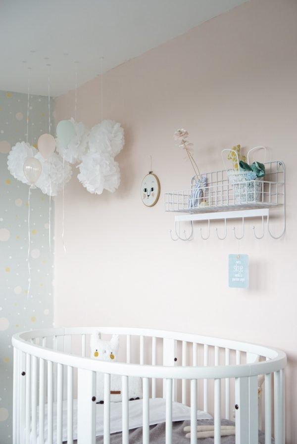 Babykamer roze stokke sleepi