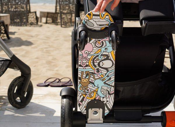 onderkantstokke trailz meerijdplank meerijdplankje skateboard graffiti