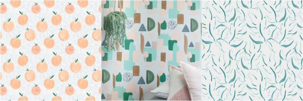 behang roomblush tropical print scandinavisch wonen interieur interieurtrends