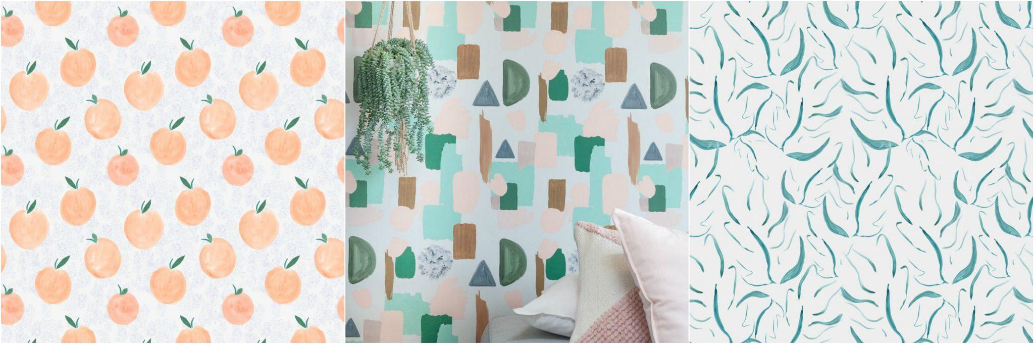 behang roomblush tropical print scandinavisch wonen interieur interieurtrends