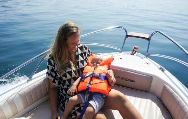 varen met kleine kinderen gadrameer