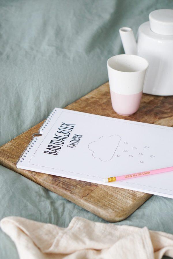 babydagboek kalender mijlpalen bijhouden makkelijk stickers