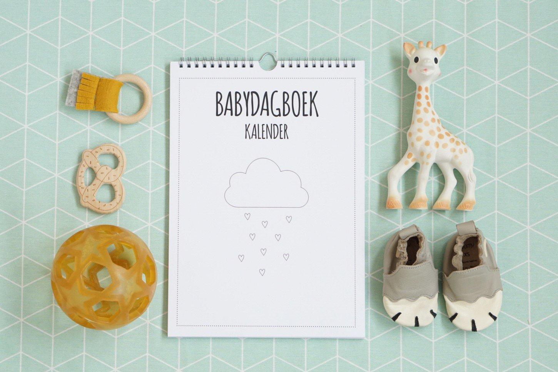 Babydagboek kalender van Noot: eenvoudig de mijlpalen van je kleintje bijhouden!
