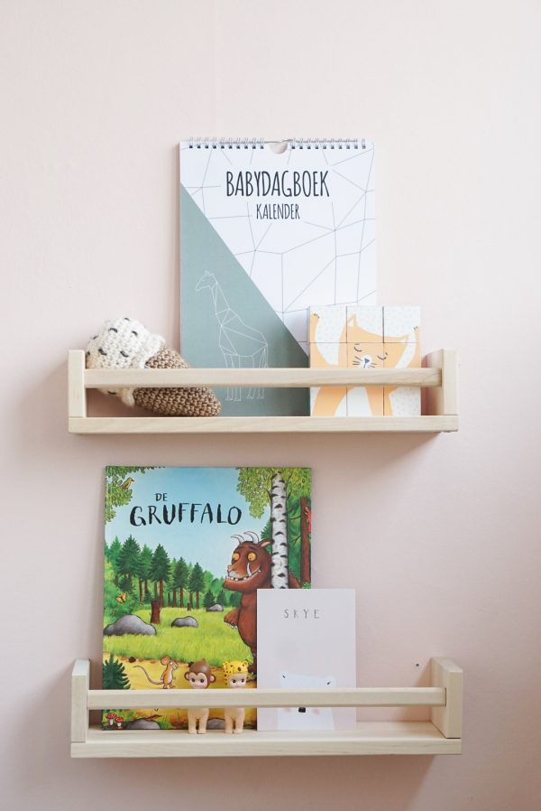 babydagboek kalender dieren noot
