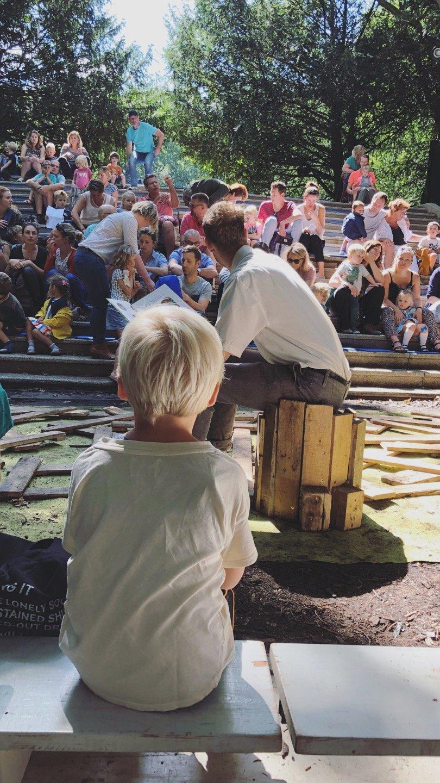 peuter theatervoorstelling amsterdamse bos