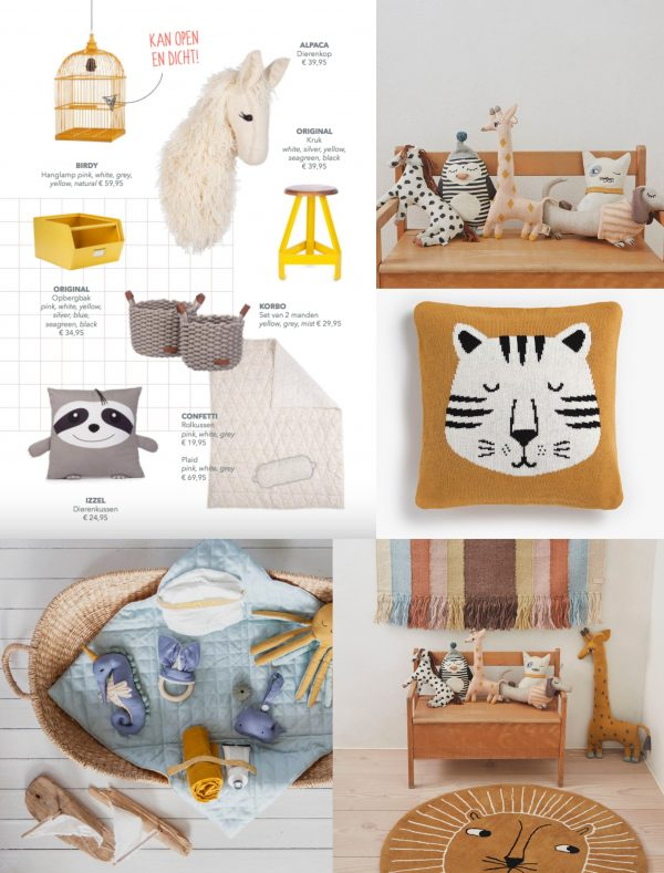 interieurtrend kleurtrend kinderkamer babykamer jungle dieren thema trends 2019 kinderkamertrend