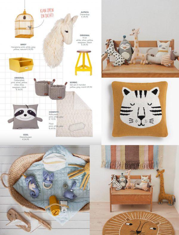 interieurtrend kleurtrend kinderkamer babykamer jungle dieren thema trends 2019