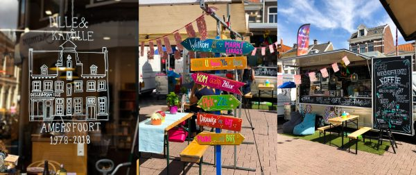 Hof amersfoort weekmarkt markt dagje uit shoppen shoppingroute