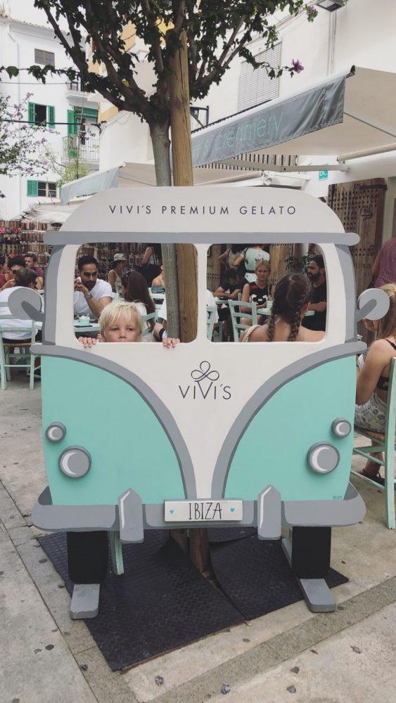 Vivi's creamery vegan ijs schepijs Ibiza stad