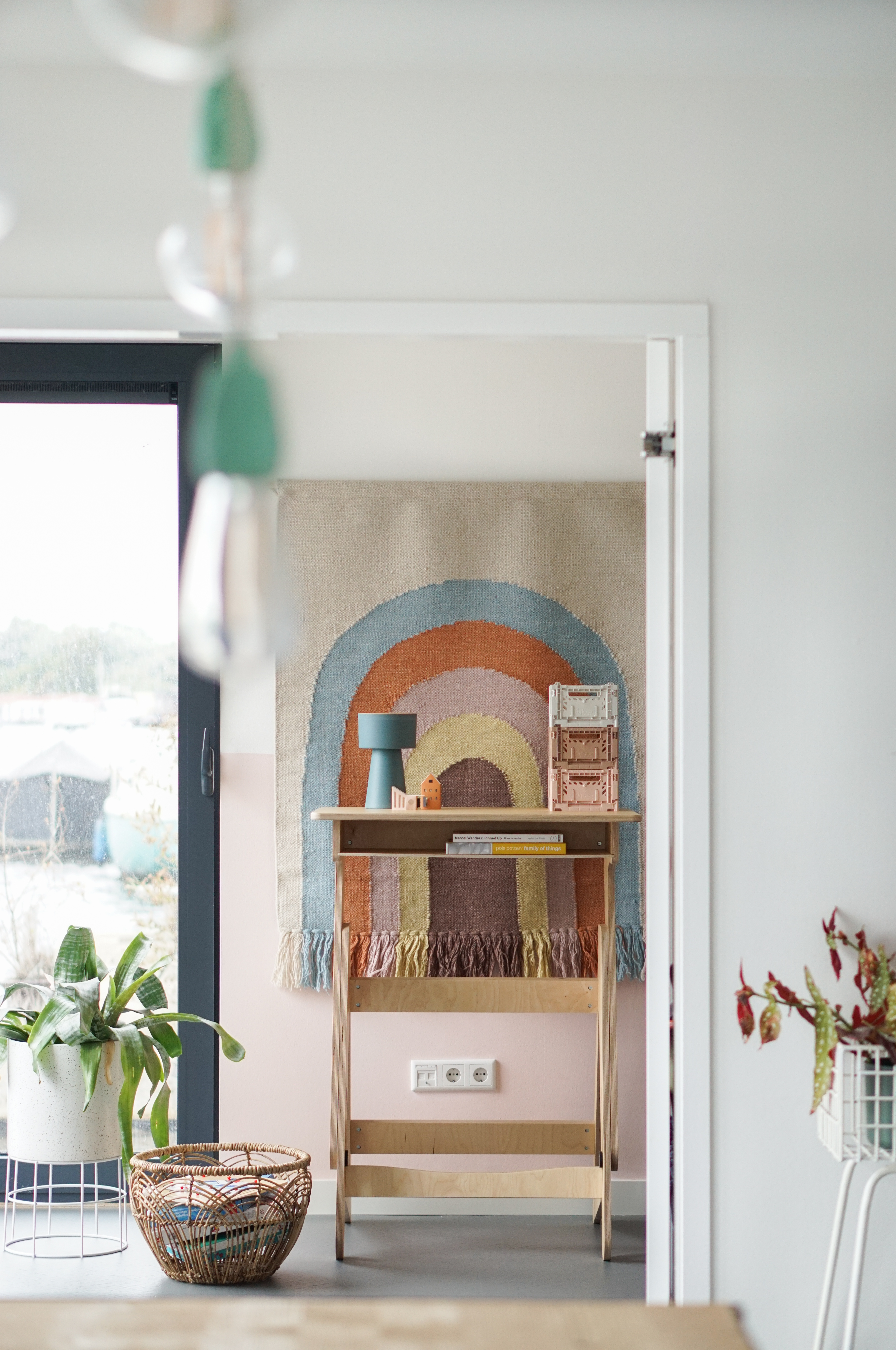 metamorfose naar een scandi boho interieur met spiced honey