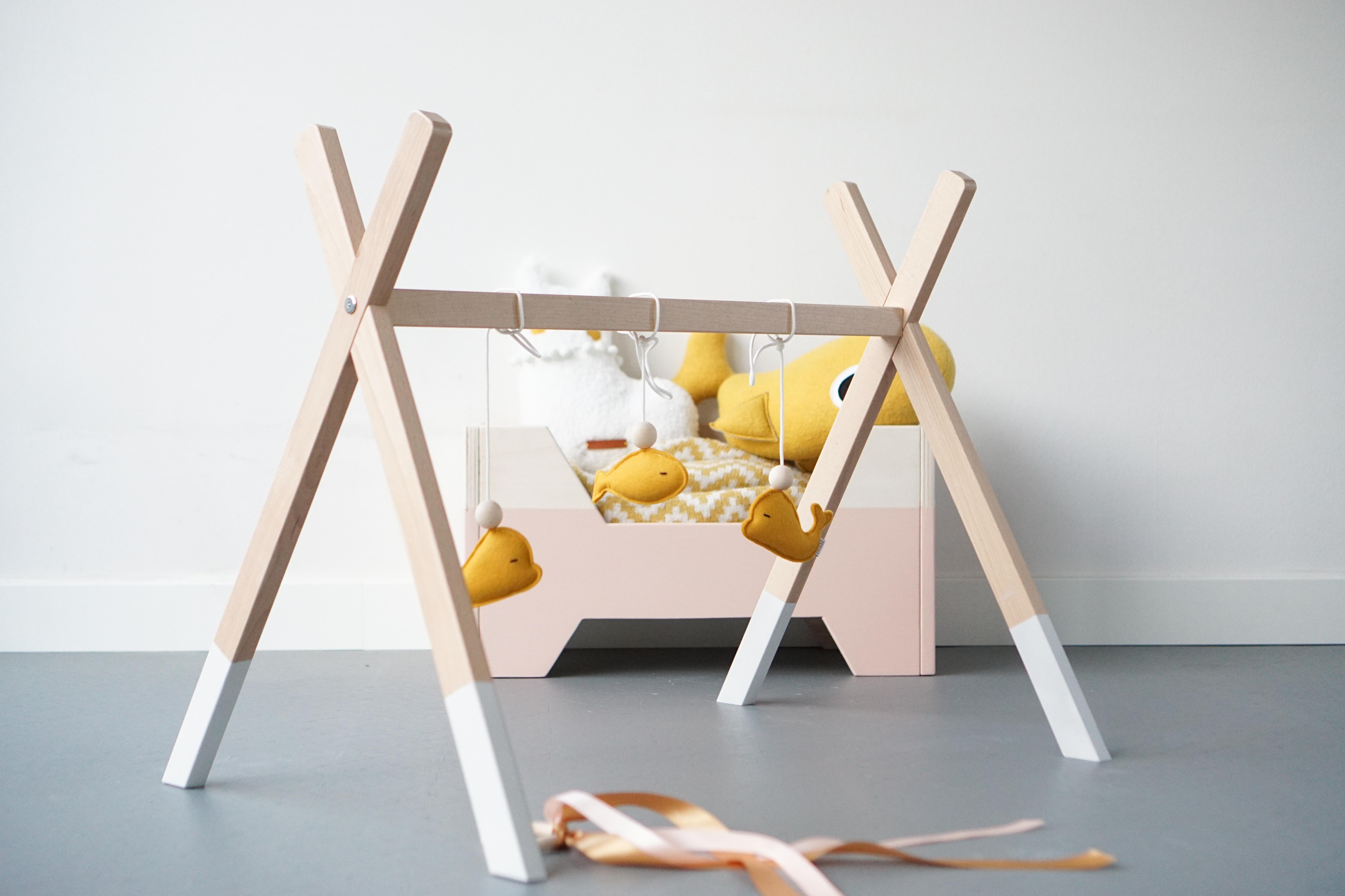 DIY houten babygym: met een klein beetje vals spelen ;-)