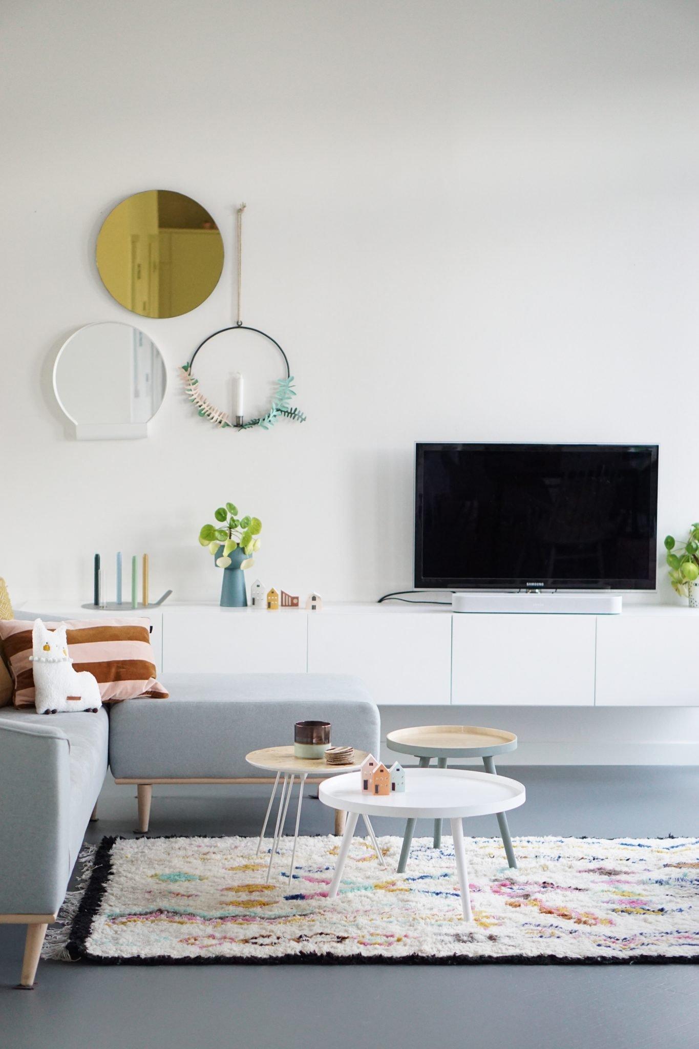 modern scandinavisch wonen woonkamer