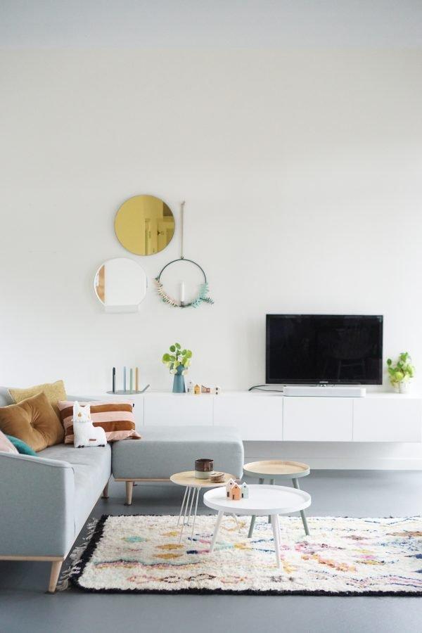 woonkamer woonboot amsterdam modern scandinavisch wonen