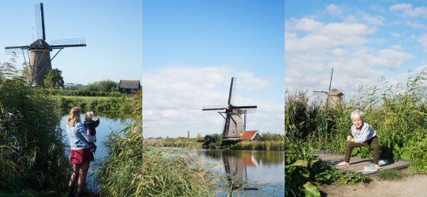 kinderdijk molens holland
