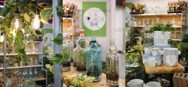 The Green Bar diy terrarium woonbeurs