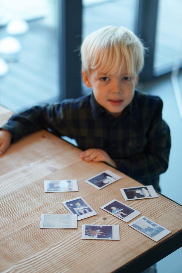 geprinte foto's polaroid instax mini