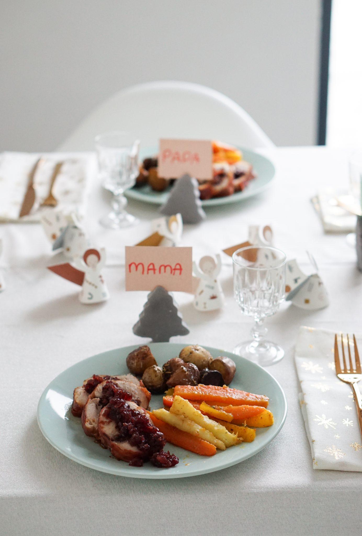 hoofdgerecht kerst kalkoenrollade