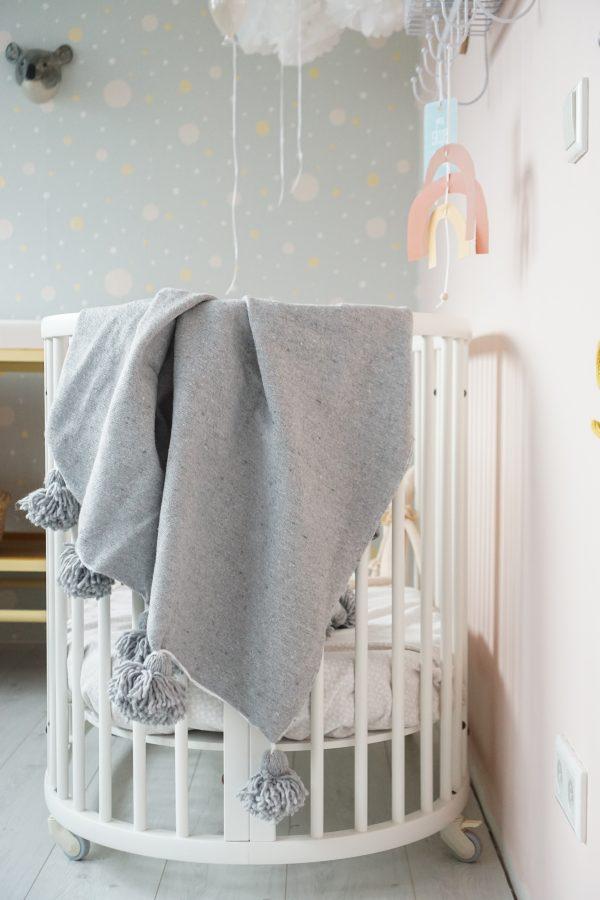 babykamer meisje pastel