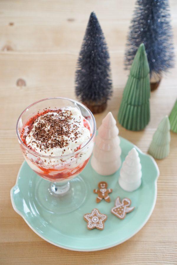 eton mess desert toetje kerstdiner