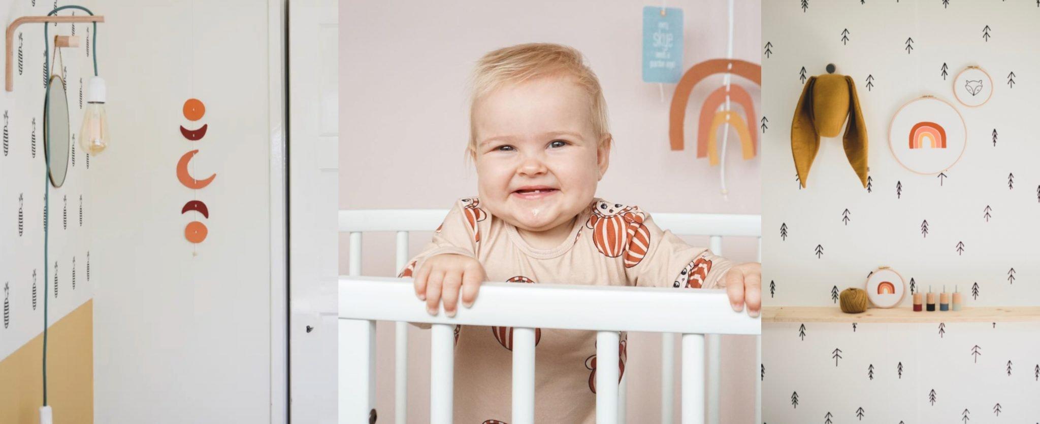 regenboog babykamer mobile studio iris van tricht