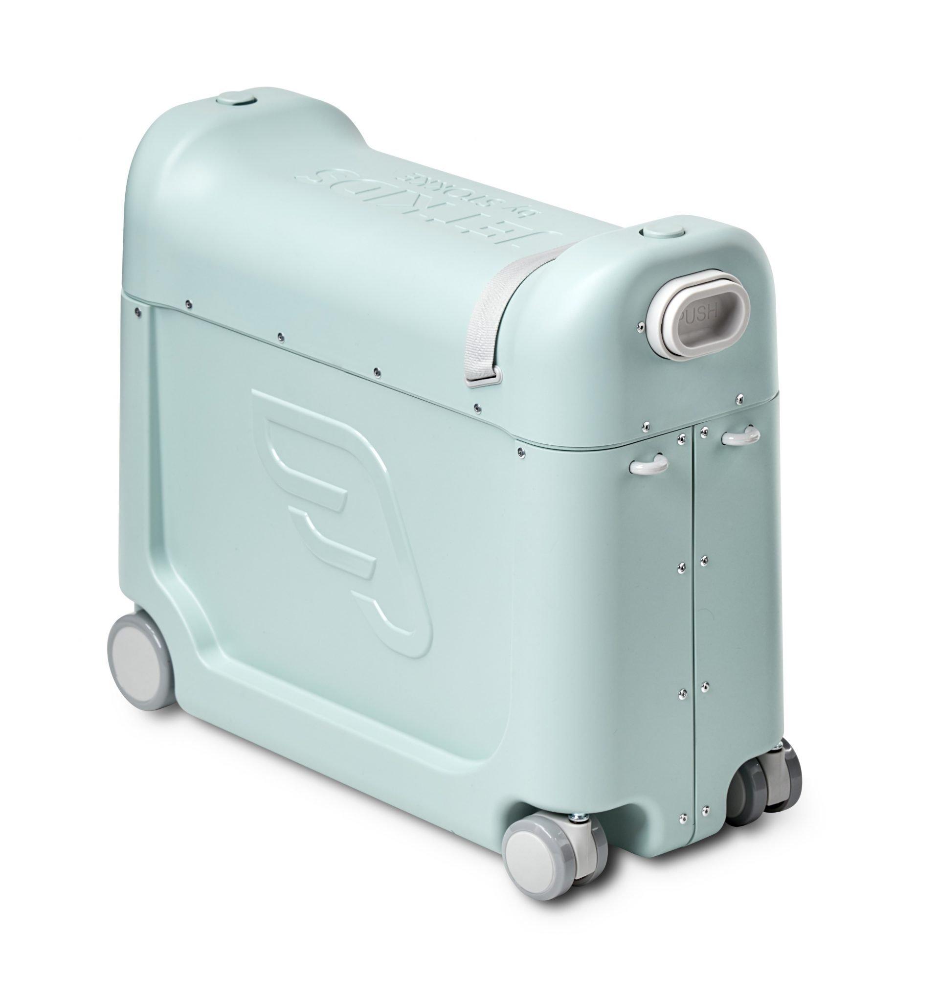 jetkids by stokke mintgroene koffer