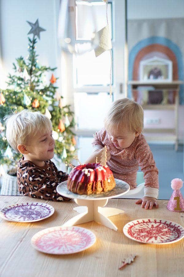 samen snoepen taart