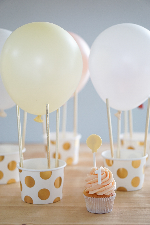 Traktatie met luchtballonnen