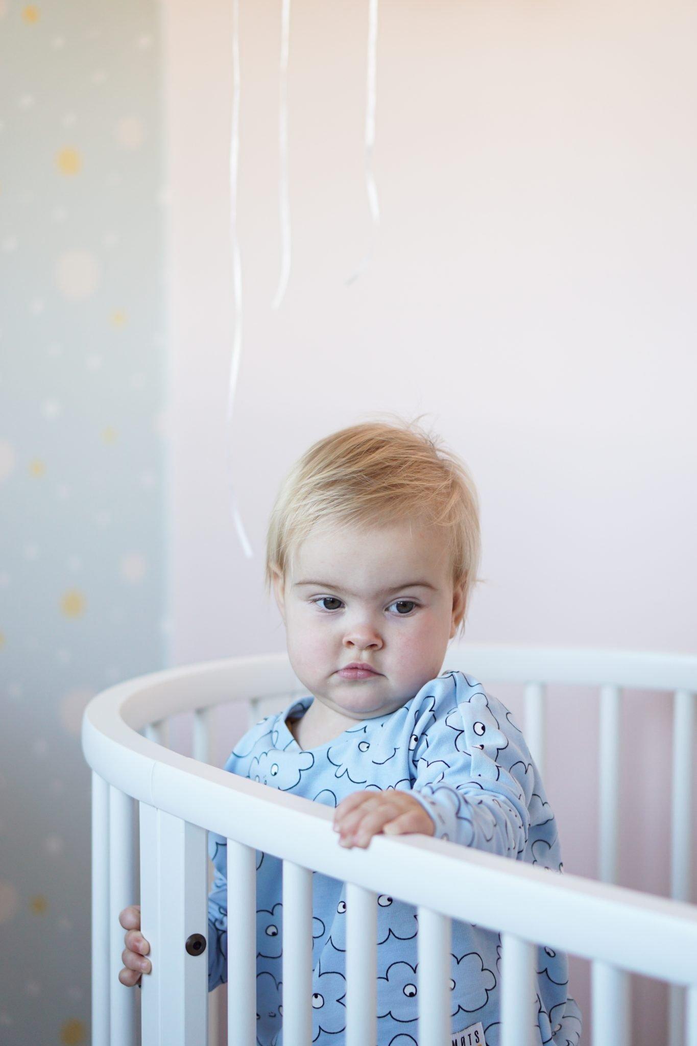 baby babykamer pastel